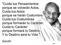 Life Philosophy, Gandhi, Plan Estrategico, Art, Inspirational Quotes, Life Lessons, Thoughts, Dating, Literatura