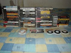 ALL my PSP games