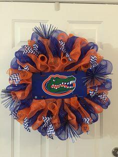 Florida Gators wreath