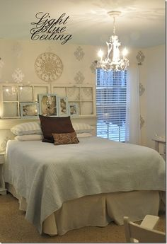 Most ppl don't think to do this, but painting a ceiling is a great way to add interest and character to a room! Paint it subtlety or loud, they both look great!