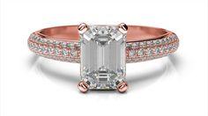 Snubný prsteň z ružového zlata snubné prstene 9a8157aa982