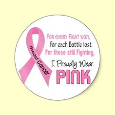 Support everyone battling Breast Cancer, celebrate the Breast Cancer Survivors, and honor each person who has lost their Battle to Breast Cancer with inspirational tshirts and gifts with Pink Ribbon. Ideal for Breast Cancer Awareness Month, Breast Cancer Walks, Breast Cancer Support Events, or anytime!