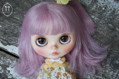 OOAK Custom Blythe Doll for Adoption : Maron by LittleDollsRoom