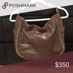 Tory Butch brown with chain purse Tory Burch purse, good condition Tory Burch Bags Totes