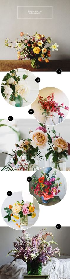 Spring Floral Inspiration | Oh Happy Day!