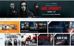 Best Amazon Prime Movies, Best Of Netflix, High Castle, Mr Robot, Instant Video, Trending Now, Good Movies, The Man, Social Media