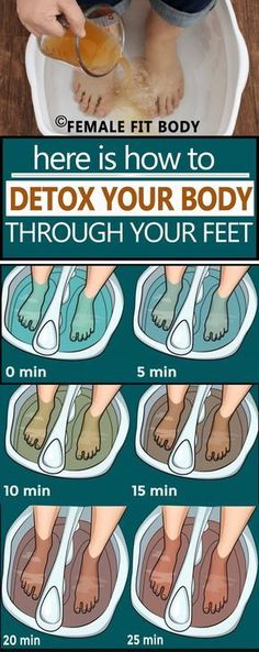 Here is How to Detox Your Body Through Your Feet