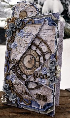 Rachelle - Life's little Embellishments: Happy New Year**** Maja Design/Dusty Attic****