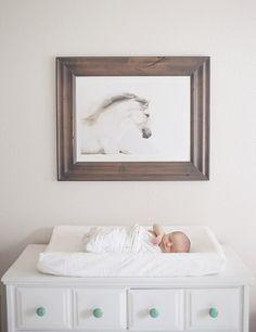 Love this dresser as a change table Beautiful Nursery Ideas www.piccolielfi.it