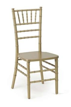 Catalogue - A&B Partytime Rentals  Chiavari / Gold Stacking $11.00 each  Chair pads available at $1.00 each and they come in white, black, red, brown and ivory.