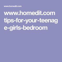 www.homedit.com tips-for-your-teenage-girls-bedroom