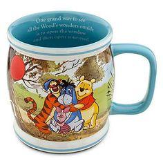 Winnie The Pooh and Friends Disney Mug Cup Disney Coffee Mugs, Large Coffee Mugs, Cute Coffee Mugs, Cool Mugs, Tea Mugs, Coffee Cups, Winnie The Pooh Mug, Winnie The Pooh Friends, Pooh Bear