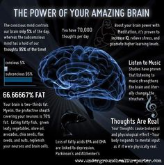 "If interested in improvement, then: ""Listen to Music""... The Power Of Your Amazing Brain [infographic]"