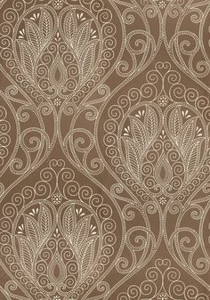 RIO, Pewter, T733, Collection Artisan from Thibaut