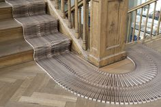 «wood loop – the runner Flexible Wood, Winterthur, Museum, Material, Deck, Stairs, Interior, Outdoor Decor, Open Source