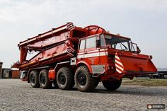 Tatra T813 8x8 AM-50 BZT Heavy Machinery, Emergency Vehicles, Mechanical Engineering, Fire Engine, Police Cars, Fire Trucks, Motor Car, Firefighter, Automobile