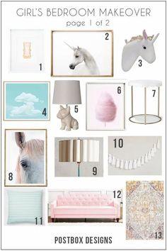 Yep, My Daughter Wants this Bedroom - Postbox Designs