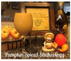 Pumpkin Spiced Starbucks Latte…er, Shakeology!!! #PSL #Shakeology #Thanksgiving #Christmas #PumpkinPie #Starbucks #Beachbody #Health #Nutrition #WeightLoss #Energy