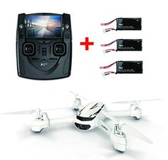 Hubsan H502S X4 Desire FPV Quadcopter With GPS Altitude Mode & 2 PCS Extra Batteries 720p HD Camera 4 Channel 5.8GHz Transmitter 6 Axis RC RTF Quadcopter Drone >>> To view further for this item, visit the image link.