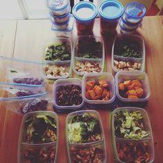 A little meal prep #mealprepsunday #mealprep #eatclean #eathealthy #fitness by thefitphoenix