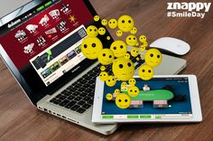 :D Today is World Smile Day! Be happy with Znappy! Make someone's day better by smiling at your game table. :D #smileyday #happyday #worldsmileyday #znappy