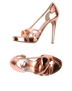 Mcq Alexander Mcqueen Sandals - Women Mcq Alexander Mcqueen Sandals online on YOOX United States Mcq Alexander Mcqueen, Platform, Metal, Heels, How To Wear, Stuff To Buy, Sandals Online, Women, Walking