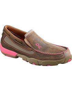 Twisted X Boots Women's WDMS003 Driving Moc Slip On