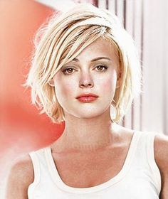 Short hairstyles for heavy women