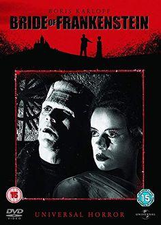 Watch Bride of Frankenstein HD Streaming Boris Karloff Frankenstein, Bride Of Frankenstein, Mary Shelley, Robert Louis Stevenson, Hd Streaming, Streaming Movies, Science Fiction, Carl Laemmle, Elsa Lanchester