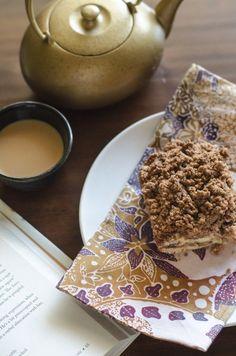 Cinnamon Coffee Cake with Streusel Crumb Topping   Go Go Go Gourmet @gogogogourmet