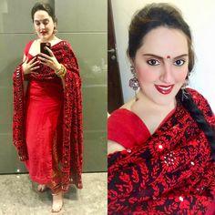 Nandini by Niti J Kundu - Her Crochet Kurta Designs Women, Salwar Designs, Chaniya Choli Designer, Saree Wearing Styles, Punjabi Salwar Suits, Patiala, Anarkali Suits, Bollywood Suits, Beautiful Suit