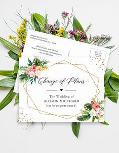 Beach Wedding Destination Wedding Hawaii Wedding Invite Maui Wedding Fiji Wedding Island Wedding Tropical Wedding Invitation