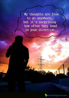 Thinking Of You Quotes   Inspirational Quotes with Pictures