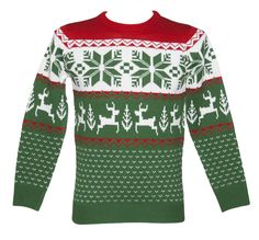 What about a Christmas jumper, decked in traditional Irish green?