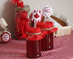 Canada Day Party Printables Collection Canada Day Party, Canada Holiday, Celebration Around The World, Happy Canada Day, Canada Eh, Lets Celebrate, Party Printables, Party Planning, Goodies