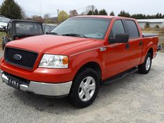 2004 Ford F-150 XLT - Quad Fire Engine Red, V-8 Automatic, All Ford Options. Golden Auto Sales, 336-526-2355