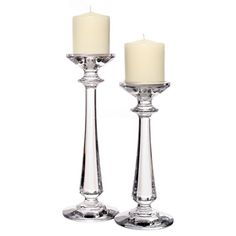 Tipperary Crystal Bacchus Candlestick Pair €125.00
