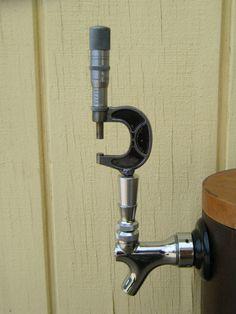 Beer Tap Handle Vintage Micrometer for bar kegerator by ironoflife