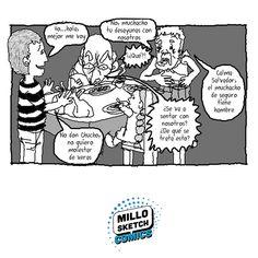Lunch's time #time #ComicArt #illustration #manga #comics #storytelling #dibujo