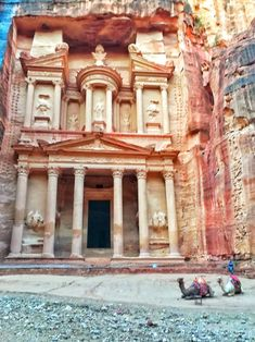 Petra, Jordan - what you need to know before visiting - Go Restless New Seven Wonders, Rose City, World Heritage Sites, Petra, Spotlight, Destinations, Mansions, Future, House Styles