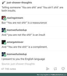 English is weird