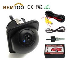 Wholesale170 Wide Angle HD Night Vision Car CCD Rear View Camera Reverse Backup Color parking Camera,