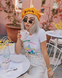 E V L Talk to the hat In the openingceremony x disneystyle tee i.am.gia.thelabel