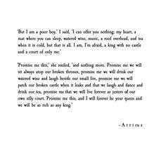 'Patched Castles' poem by Atticus @atticuspoetry #atticuspoetry