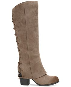 Fergalicious Truffle Corsetted Boots - Boots - Shoes - Macy's