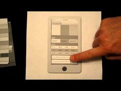 iPhone User Interface Design, Paper Prototype study