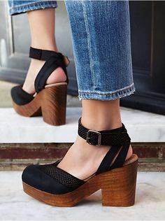 Free People Walk This Way Clog, $158.00