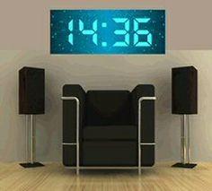 large digital wall clock 21 best Large Digital Wall Clock images on Pinterest | Digital  large digital wall clock