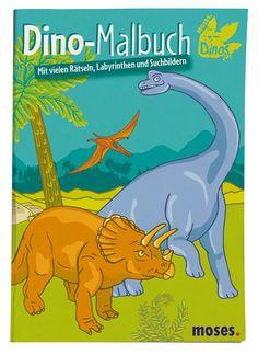 Ein süßes Dino Malbuch für alle Dinosaurier Fans. Das Malbuch git es bei www.party-princess.de und ist ein tolles Geschenk zum Kindergeburtstag