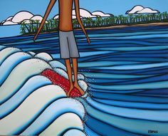 The Surf Art of Heather Brown
